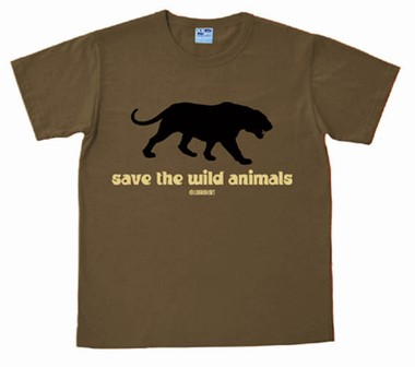 Logoshirt - Save The Wild Animals - Shirt