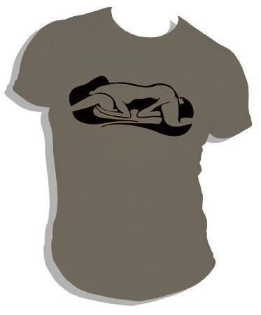 Ladylove - olivbraun - shirt