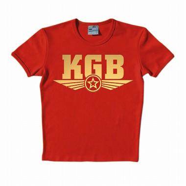 Logoshirt - KGB Gold - Shirt