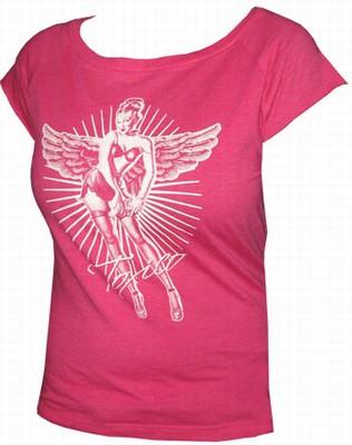 Toxico Shirt - Pin Up Angel Pink - Girls