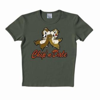 Logoshirt - Chip ´n´ Dale Shirt - Olive
