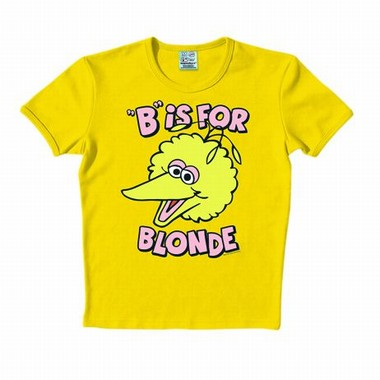 Logoshirt - Sesamstraße - B Is For Blonde Shirt