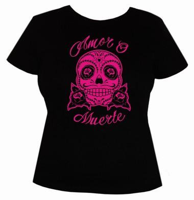 Amor o Muerte - Girls Shirt  - pink