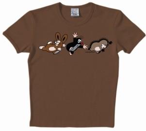 Logoshirt - Der kleine Maulwurf auf der Flucht Shirt