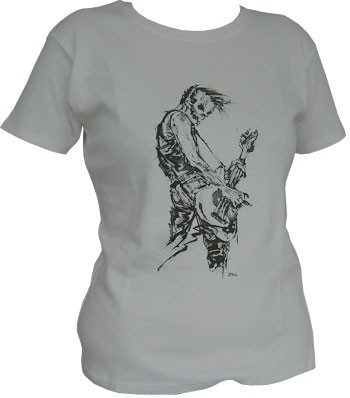 Bassist - Grey - Girl Shirt