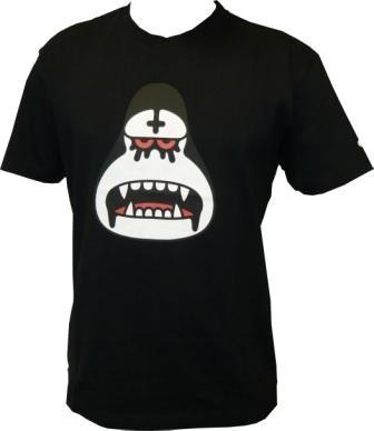 Amos - Black Metal Ken - Black - Men Shirt