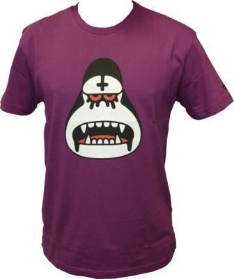 Amos - Black Metal Ken - Phlox - Men Shirt