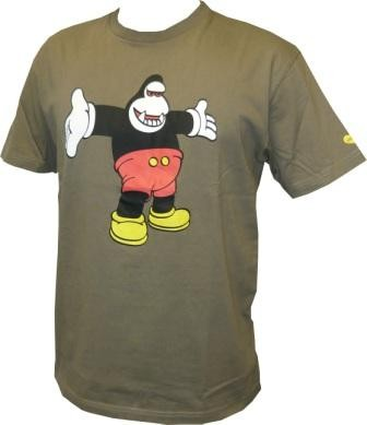 Amos - King Mickey Shirt - Shitake - Men