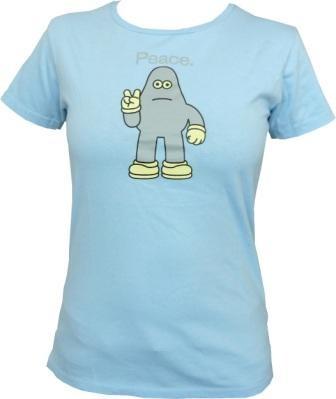 Amos - Peace - Bluebell - Girl Shirt