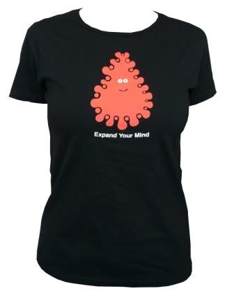 Amos - Expand your  mind Shirt  - Black - Girl