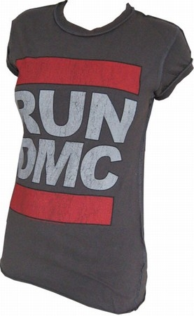 Amplified - RUN DMC Shirt Original Logo - Girl