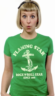 RocknRoll since 1999 - Girl Shirt grün