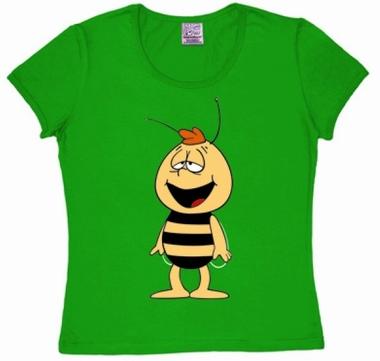 Logoshirt - Biene Maja - Willi - Girl Shirt