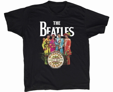 Beatles Men Shirt - Sgt. Pepper