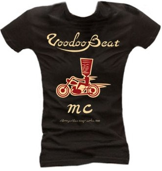 MC Voodoobeat black - Girl Shirt
