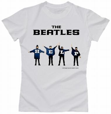 Beatles Girl Shirt - Help