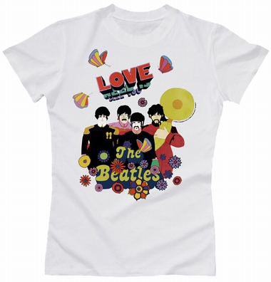 Beatles Girl Shirt - Love