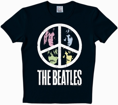 Logoshirt - The Beatles - Vintage Peace Shirt