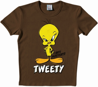 Logoshirt - Looney Tunes - Tweety Shirt