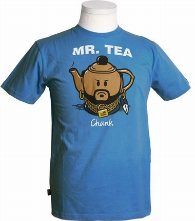 Chunk - Mr. Tea - Shirt - dodgerblue