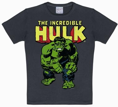 Logoshirt - Hulk Kids Shirt - Marvel - Blau