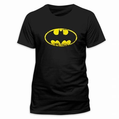 Batman T-Shirt Distressed Logo