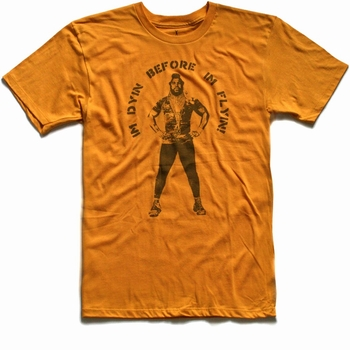 American Classics - Dyin before Flyin - Shirt - gelb, orange