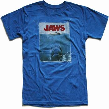American Classics - Jaws - Shirt - königsblau