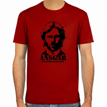 Ansgar Brinkmann Fussball Shirt - Rot