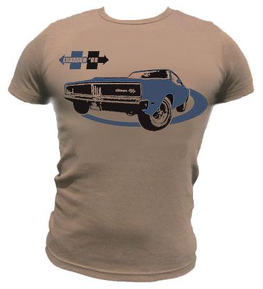 Charger 69 Shirt - braun