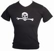 Thomas Ott Men Shirt  - Skull - Slim Fit
