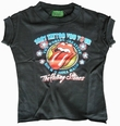 AMPLIFIED - KINDER SHIRT - ROLLING STONES TATTOO TOUR - BLACK