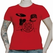 HERE FOR THE GIRLS - RED GIRL SHIRT