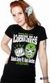 Mexican Wrestling - Girl Shirt schwarz