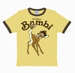 KIDS-SHIRT - BAMBI DISNEY - CORNFIELD YELLOW