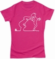 LA LINEA GIRL SHIRT - PEEKABOO