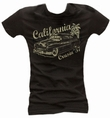 California Cruisin 57 - Girl Shirt schwarz