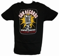 ELECTRIC MIC SUN RECORDS - STEADY CLOTHING T-SHIRT