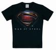 KIDS SHIRT - SUPERMAN MEN OF STEEL KINDER SHIRT