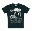 LOGOSHIRT - STAR WARS SHIRT AT-AT SCHWARZ
