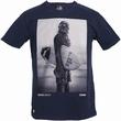 Star Wars Shirt - Chunk - Wookie Surfer Chewbacca - navy