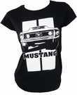 TOXICO - MUSTANG - GIRL SHIRT - SCHWARZ