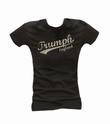 TRUMPH LONDON - GIRL SHIRT SCHWARZ