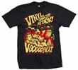 Vinyl Saucer Attack - Men Shirt Schwarz Modell: vbt164
