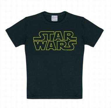 Kids Shirt - Star Wars - Logo Schwarz