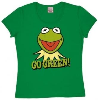 Logoshirt - Muppets Kermit Go Green - Girl Shirt