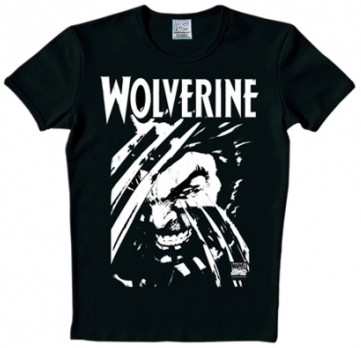 Logoshirt - Wolverine Shirt - Black