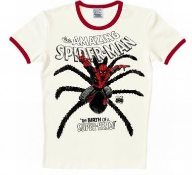 Logoshirt - Spiderman - The Birth Shirt