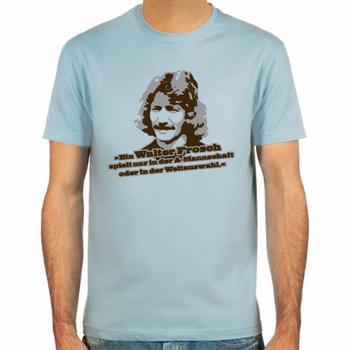 Walter Frosch Fussball Shirt - Blau