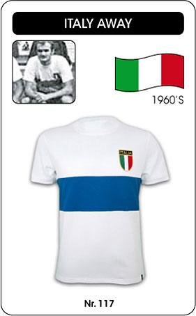 Italien Retro Trikot 1960 weiß